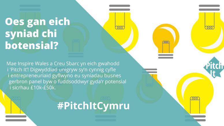 Pitch It Cymru promotional image